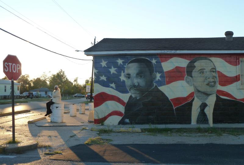 Obama and King North Gulfport